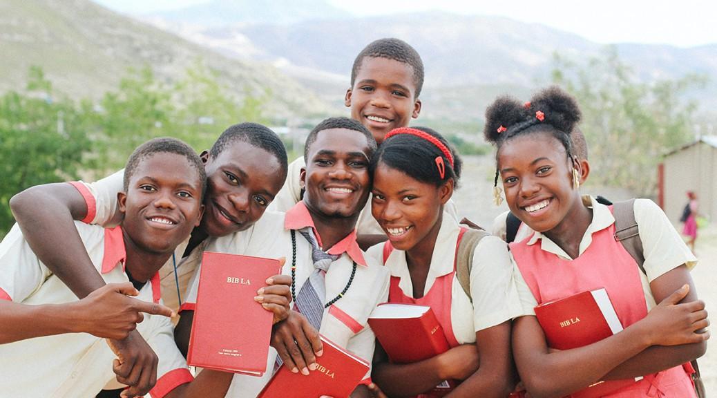 Grace Emmanuel School students