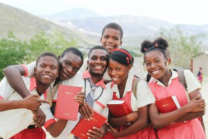 Grace Emmanuel School students