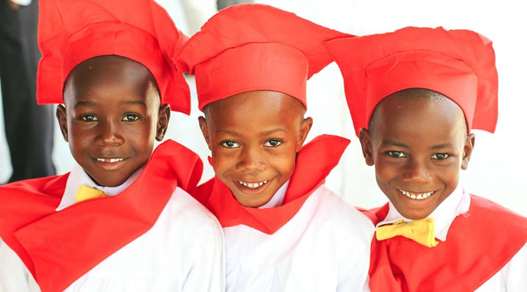 kindergarten graduates