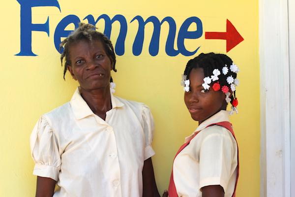 Gefftia and her mom